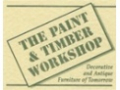 Paint and Timber Workshop