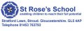 St Rose's Nursery - Early Years Department