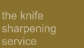 The Sharpening Service