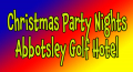 Christmas Party Nights at Abbotsley Golf Hotel