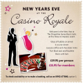 New Years Eve at Casino Royale