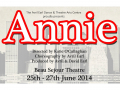 THE AVRIL EARL DANCE & THEATRE ARTS COMPANY PROUDLY PRESENT ANNIE.