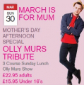 Mothers Day Special - Treat her to Olly Murs