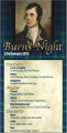 Burns Night at Arbor Lights Walsall