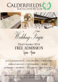 Winter Wedding Fayre in Walsall at Calderfields Golf and Country Club