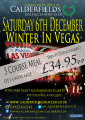 Winter in Vegas Event in Walsall at Calderfields Golf and Country Club