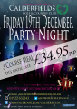Party Night in Walsall! At Calderfields Golf and Country Club