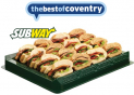 Win a Subway Platter in Coventry