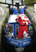 Special Santa Trips along the Chesterfield Canal