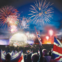 Burghley House Battle Proms Picnic Concert