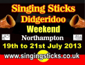Singing Sticks Didgeridoo Music Weekend 19-21 July Northamptonshire
