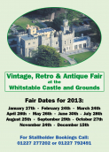 Whitstable Castle, Vintage Retro & Antique Fair