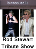 Enjoy a night of good food and music with Rod Stewart tribute evening at boscoreale ristorante italiano in Kingswood.
