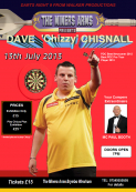 Darts exhibition July 13th At the Miners Brymbo