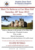 St David's Hospice Black Tie BBQ