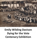 EMILY WILDING DAVISON Centenary Exhibition at Bourne Hall Ewell @epsomewellbc