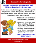 Melody Bear Come to Farnham! 2 to 4 years old