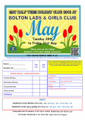 BLGC May Holiday Club