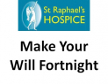 Make your will and make money for St Raphael's Hospice @St_Raphs @CuffandGoughLLP