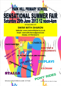 PARK HILL PRIMARY SCHOOL SENSATIONAL SUMMER FAIR