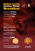 British & Irish Lions Tour Breakfast