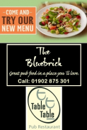Savour the new Spring / Summer menu at Table Table restaurants in Wolverhampton