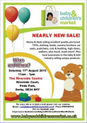 Baby and children's market - Derby
