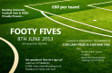 FOOTY FIVES 2013