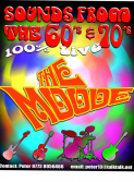 The Moode live 60's &70's band
