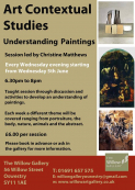 Understanding Paintings at the Willow Gallery