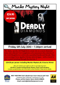Murder Mystery Night - The Deadly Diamonds