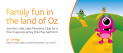 A magical journey into the land of Oz at intu Lakeside this half term