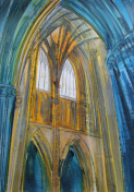 Cathedral Exhibition by Artist Lesley Westrop