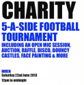 Charity 5-a-side Football Tournament