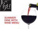 SUMMER DINE WITH WINE DINNER MENU AT LA GRANDE MARE HOTEL