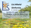 Follow Lichfield Sinfonia to Tutbury!