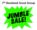 7th Banstead Scout Group – Jumble Sale @BansteadScouts
