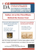 Italian Art at the Fitzwilliam: Behind the Scene Tour