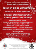 Ipswich Choral Society in conjunction with the Mayor of Ipswich presents Ipswich Sings Christmas!