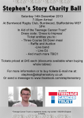 Charity Ball in aid of the Teenage Cancer Trust