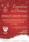 Countdown to Christmas with Bewdley Concert Band