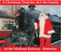 Santa Special Trains @ Midland Railway - Butterley