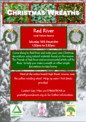 Christmas Wreaths at Red River Nature Reserve