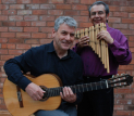 """Leo Turner and Carlos Munoz Villalobos"" at The Glebe Field Centre, Crich"