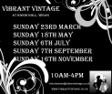 Vibrant Vintage Fair at Haigh Hall