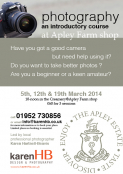 Photography - an introductory course