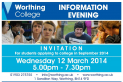 Worthing College Information Evening