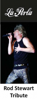Do you think he's Sexy – Rod Stewart  tribute at La Perla Kingswood @LaPerlaKW