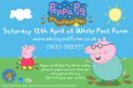 Meet Peppa Pig and Daddy Pig White Post Farm