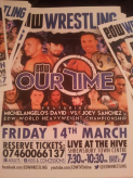 EDW Wrestling event in Shrewsbury